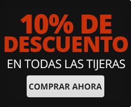 Descuento 10% en Tijeras